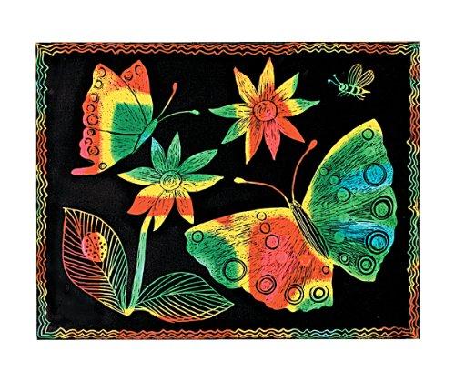 Melissa Doug Scratch Art Paper - 50 Multicolor Sheets