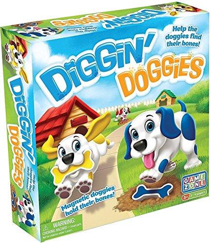 Game Zone Diggin Doggies Board Game