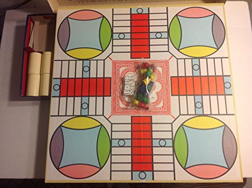 Parcheesi 1964 Gold Seal Edition Vintage Board Game