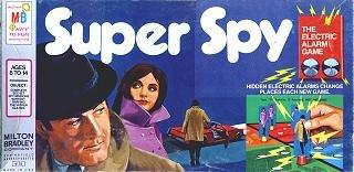 Super Spy Vintage Board Game 1971