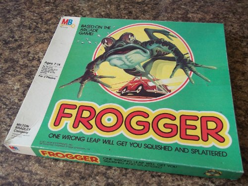 Vintage 1981 FROGGER Board Game