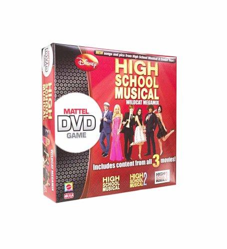 Disney High School Musical Wildcat Megamix DVD Board Game