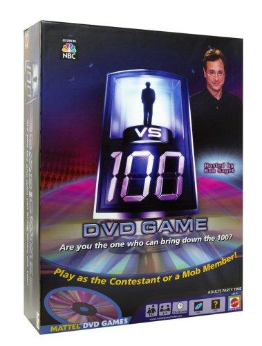 Mattel 1 Vs 100 DVD Board Game