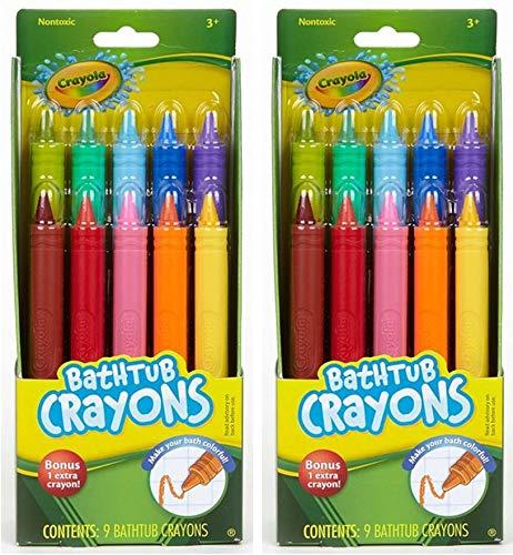 Crayola Bathtub Crayons 10 Count 2 Pack