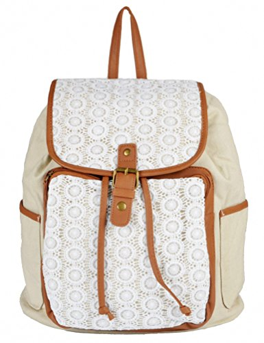 Kenox Fashion Casual School Girls Backpacks Women Cute Lace College Book Bag DayBack