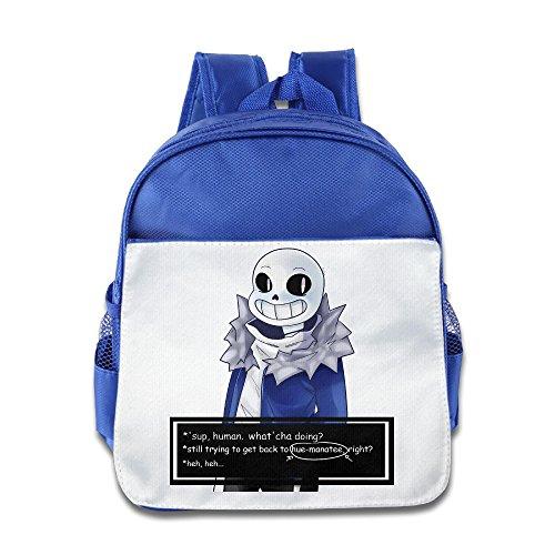 Undertale Sans Get Dunked On Child Fashion Backpack School Bag