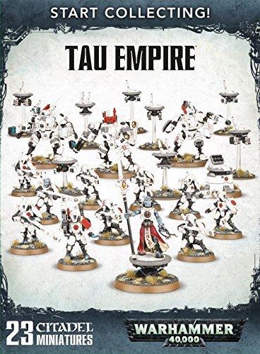 Warhammer 40000 Tau Empire start collecting by Games Workshop