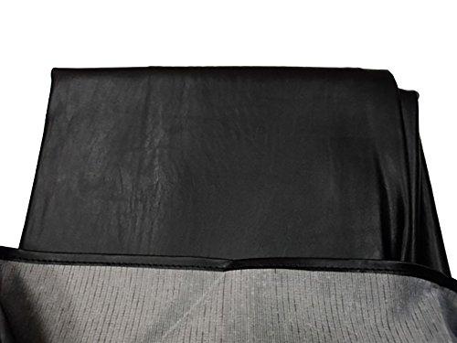 8 Black Legacy Pool Table Cover - Drape Style