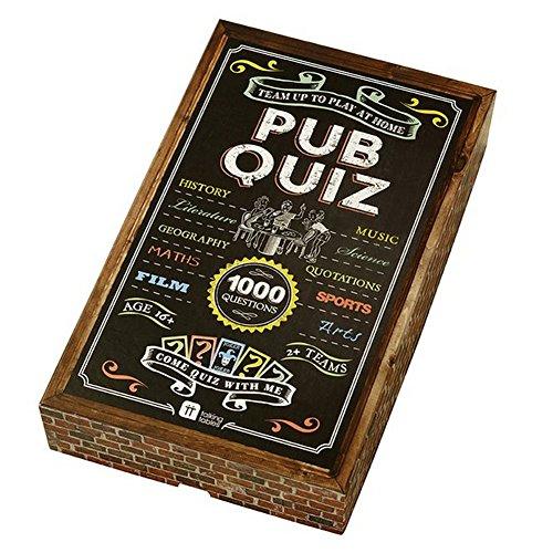 Talking Tables Ultimate Pub Quiz Trivia Game Set Multicolor