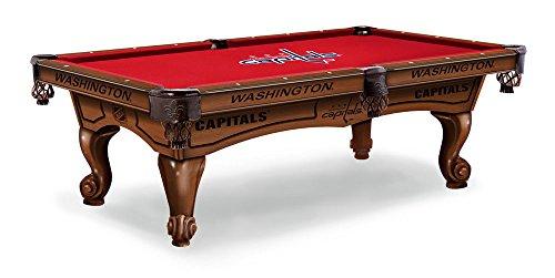 Washington Capitals 8 Pool Table - Traditional Mahogany