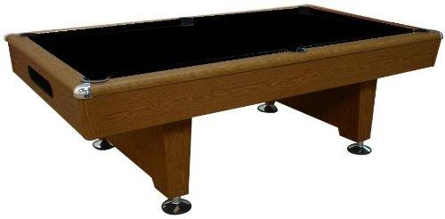 Playcraft Honey Oak Knight 8 Pool Table with Ball Return