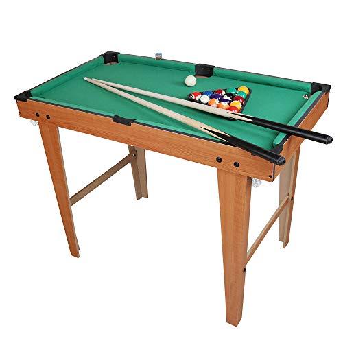 WOODYS HARMONY 36 Mini Table Top Pool Table Game Billiard Set Cues Balls Gift Indoor Sports
