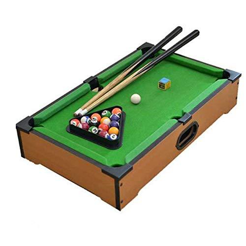 PUEEPDEE Mini Pool-Billiard Table Kids Mini Pool-Billiard Table Table Top Miniature Pool Game Set for Adults Tabletop Toy Pool Table Mini Pool Table for Kids Color Size  31x51x11cm