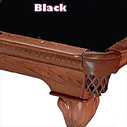 7 Simonis 760 Black Billiard Pool Table Cloth Felt