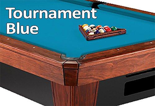 8 Oversized Simonis 860 Tournament Blue Billiard Pool Table Cloth Felt