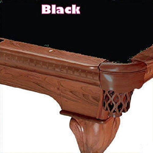 8 Simonis 760 Black Billiard Pool Table Cloth Felt