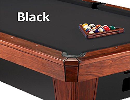 9 Simonis 860 Black Pool Table Cloth Felt