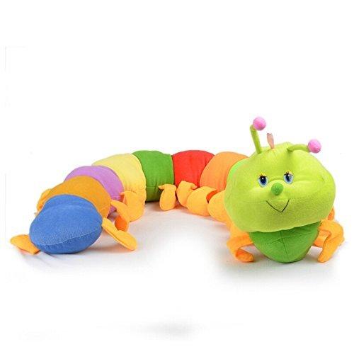WelecomTM Welecom Caterpillar - Toddler Early Learning Basic Life Skills Childrens Plush Travel Activity