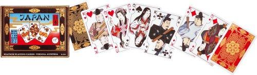 Japan Heritage Playing Cards Set of 2 Decks Piatnik