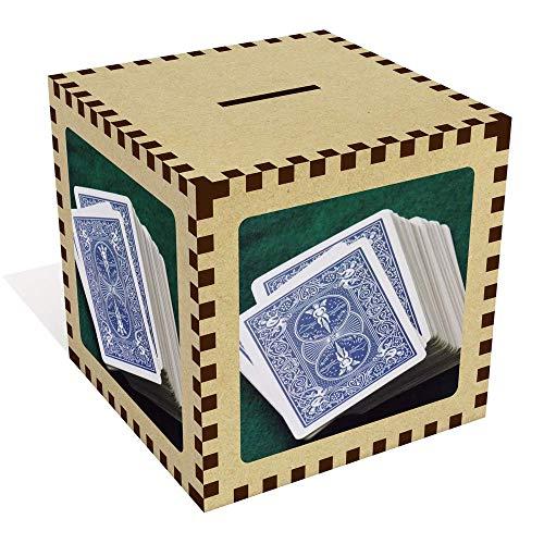 Azeeda Large Playing Cards Money Box  Piggy Bank MB00006470