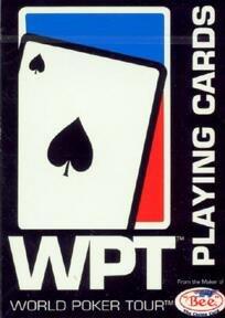 World Poker Tour Black Playing Cards