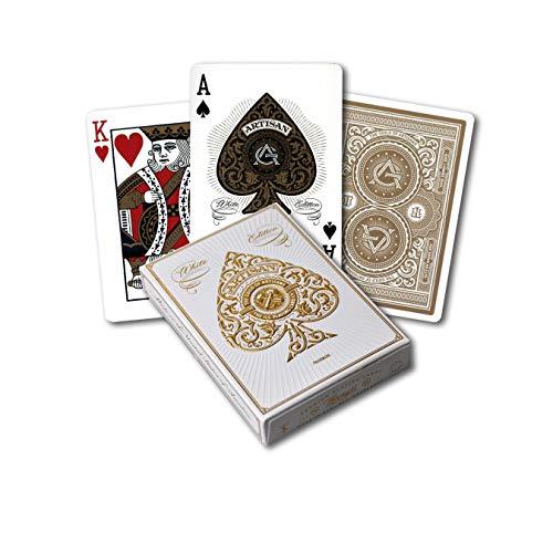 Artisan Playing Cards White