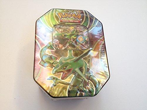 POKEMON TRADING CARD GAME TIN BOX RAYQUAZA NEW SEALED