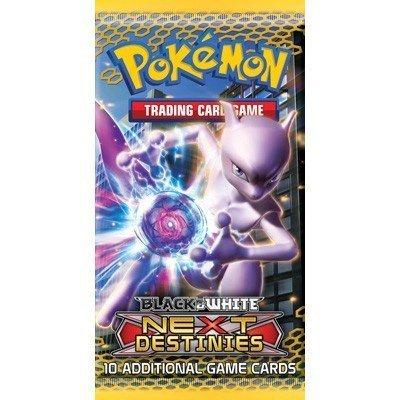 Pokemon Card Game Next Destinies Booster Pack 1 Random Pack