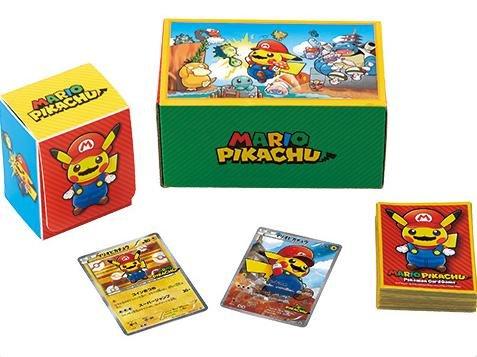 Pokemon Card Game XY BREAK Super Mario Bros Pikachu Cosplay Mario Box