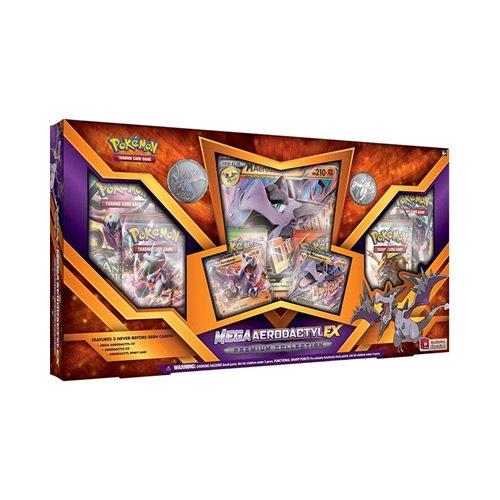 ies Mega Aero Dactyl-EX Premium Collection Pokemon Card Game