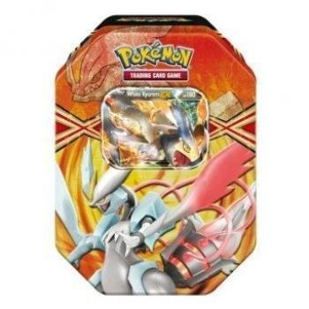 Pokemon TCG Card Game 2013 Spring EX Tin White Kyurem