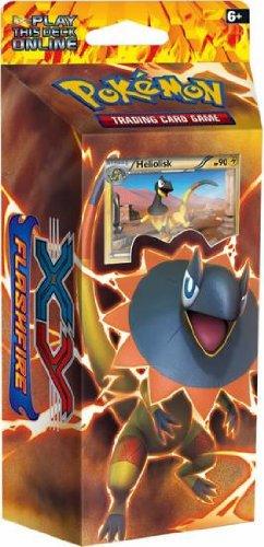 Pokemon Trading Card Game XY Flashfire - Brilliant Thunder Theme Deck Heliolisk