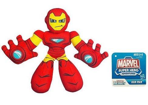 MARVEL Super Hero Adventures PLAYSKOOL HEROES IRON MAN Figure