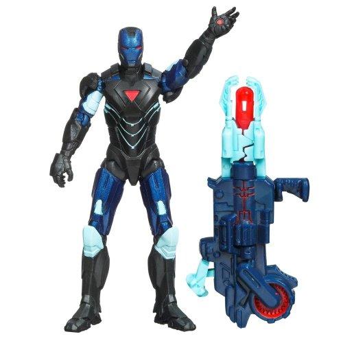 The Avengers 2012 Movie Series Reactron Armor Iron Man Mark VI 4 inch Action figure