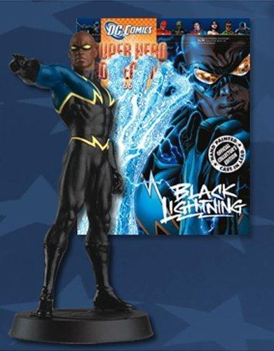 DC Superhero Figurine Collection 66 Black Lightning by Eaglemoss