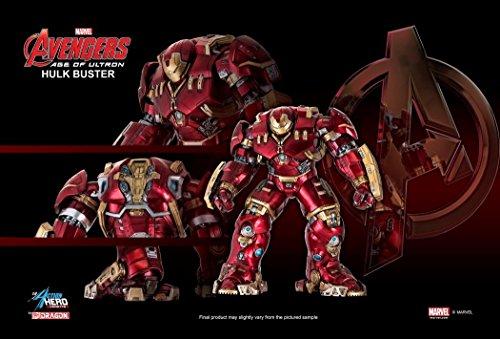 Avengers Age of Ultron Hulk Buster Iron Man Action Hero Vignette 19 Scale Pre-Assembled Model Kit