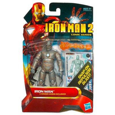 Marvel Iron Man 2 Movie 3 34 Comic Series Iron Man Action Figure by Hasbro