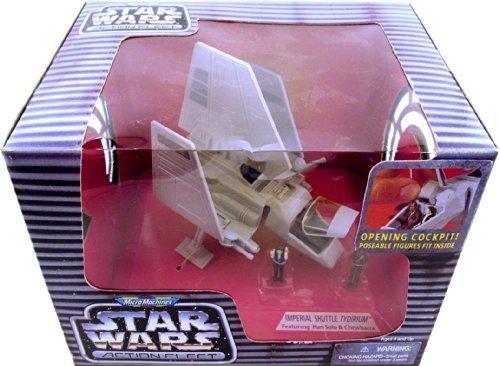 Barbie Micro Machines Star Wars Action Fleet Imperial Shuttle Tydirium