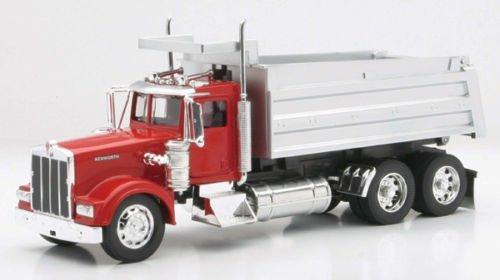 Die-Cast Truck Replica - Kenworth Dump Truck 132 Scale Red