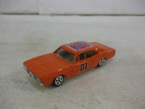 Dukes Of Hazzard General Lee Car In Orange Diecast 164 Scale By Ertl