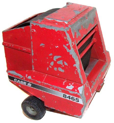 Vintage Ertl Diecast Case 8465 Round Hay Baler Farm Toy
