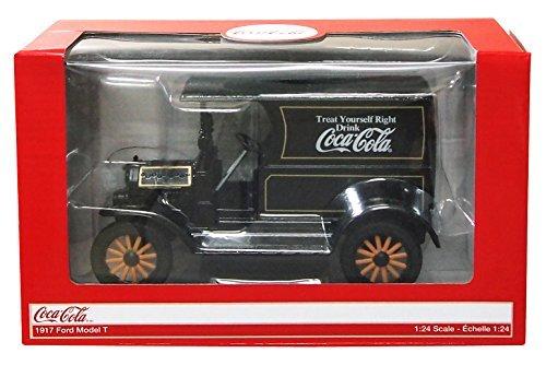 Coca Cola 124 Scale 1917 Ford Model T Die Cast Collectors Model Car Black by Coca-Cola