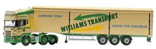 Scania R Rear Tag Moving Floor Trailer Williams Transport Diecast Model Lorry by Corgi