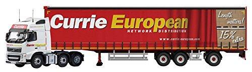 Volvo FH Super Curtainside Trailer Diecast Model Lorry by Corgi by Corgi