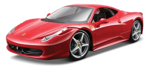 Maisto 124 Scale Red Assembly Line Ferrari 458 Italia Diecast Model Kit