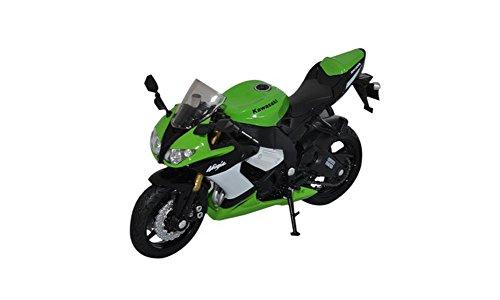 Welly 118 Kawasaki Ninja ZX-10R Diecast Motorcycle Model Collection Green L x W x H115 x 75 x 35