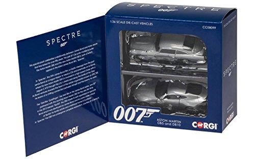 Corgi CC08099 James Bond 007 Aston Martin DB5 DB10 Spectre Set 136 Scale Diecast Car Twin Pack
