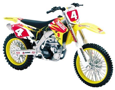 2007 Suzuki RM-Z450 Ricky Carmichael diecast motorcycle 112 scale die cast by NewRay