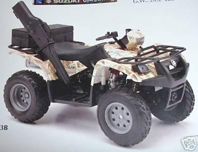 Suzuki Vinson Auto 500 4x4 Sand 112 Scale Diecast ATV By Newray