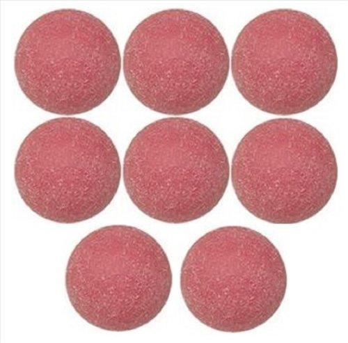 8 Official Classic Pink Foosballs